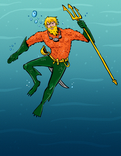 Aquaman Redesign