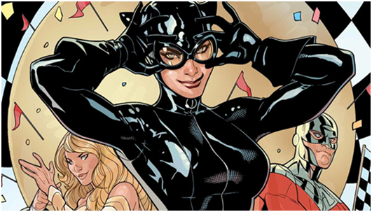 Catwoman, the most popular choice on Halloween. Hot and fabulous!