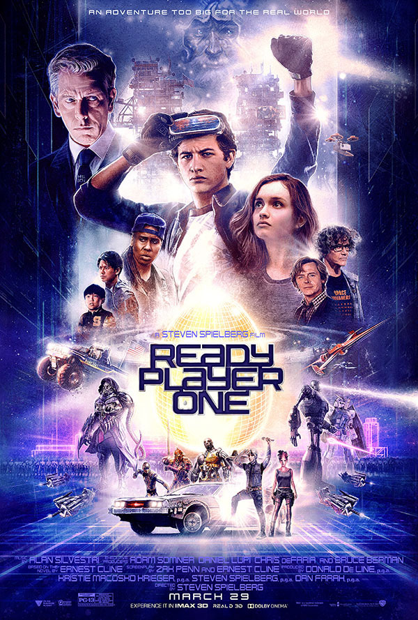 Stop Playing With Your Joystick: A Review of Ready Player One